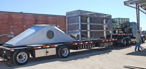 Another SRU Condensing Economizer Leaves The Factory